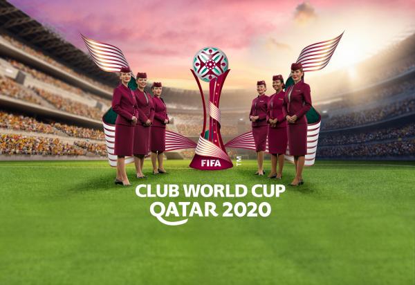 卡塔尔航空迎接2020世俱杯参赛球队决战卡塔尔